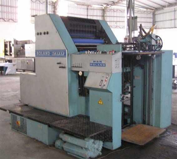 罗兰四开单色R201-TOB印刷机