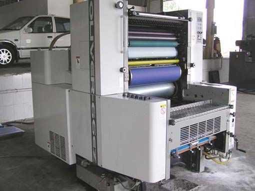 OLIVER-66ZE-日本樱井四开单色二手印刷机