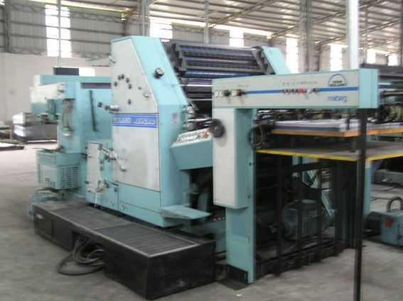 罗兰RZK3B二手印刷机