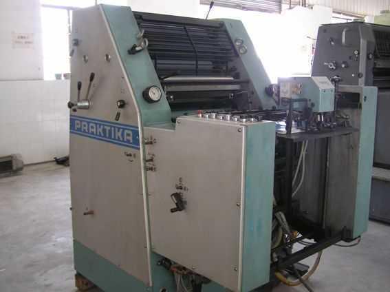 罗兰六开单色二手印刷机