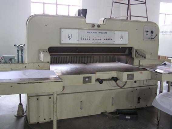 150CE-二手进口切纸机