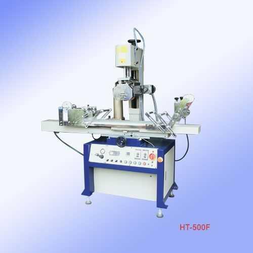 HT-500F气动胶辊式平面热转印机