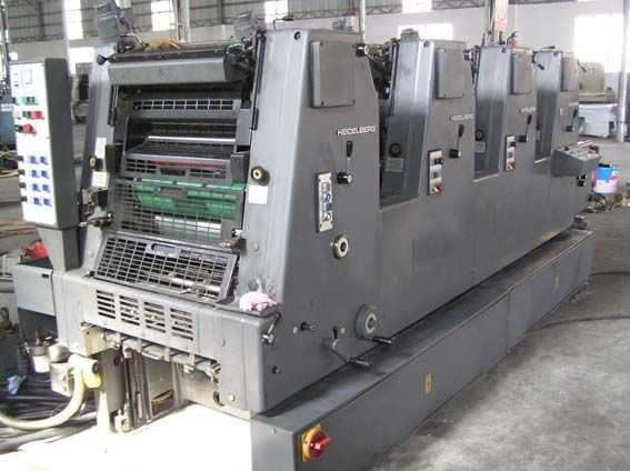 GTOV52-海德堡六开四色机