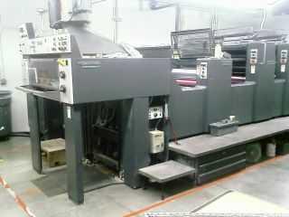 1995年海德堡SM74-2H+LX印刷机