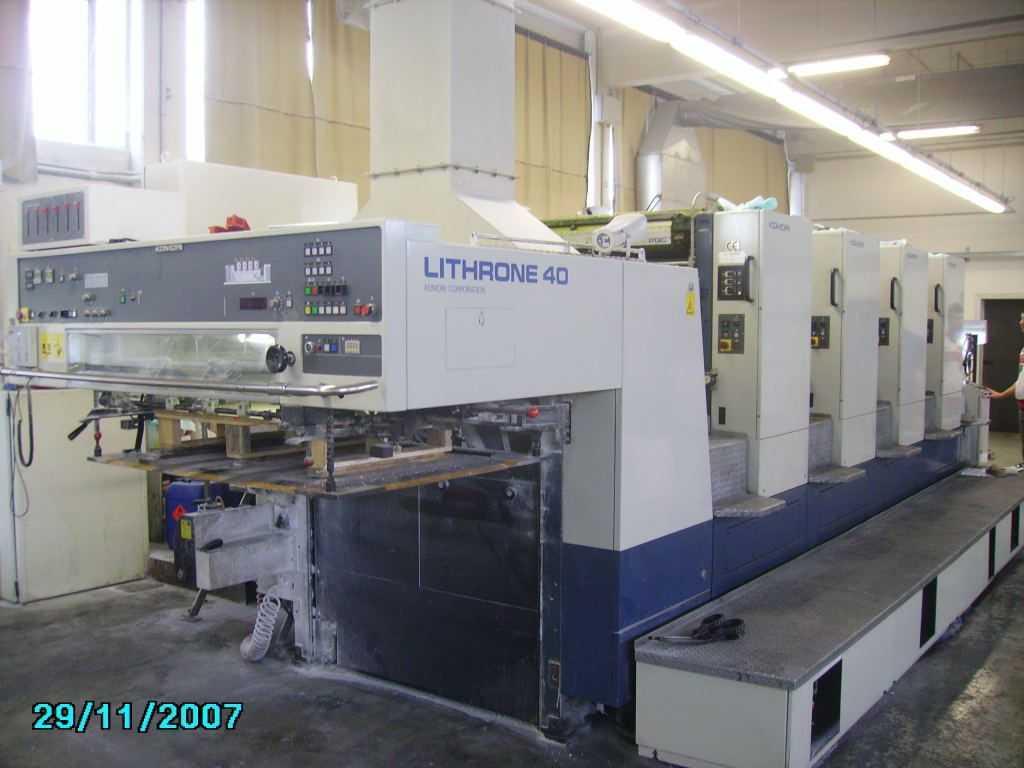 1998日本小森L-440对开四色机