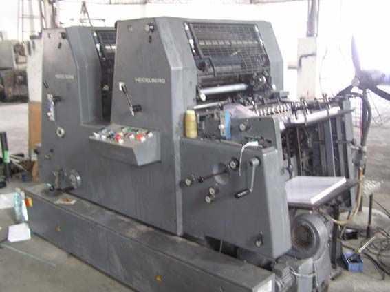 二手海德堡GTOZ52酒精印刷机