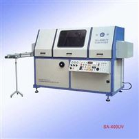 SA-400UV全自动印瓶丝印机|全自动丝印机|吹瓶丝印机
