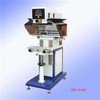 SPC-818D气动单色油盅移印机