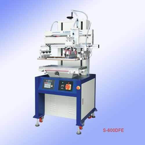 S-600DFE-气动平面丝印机