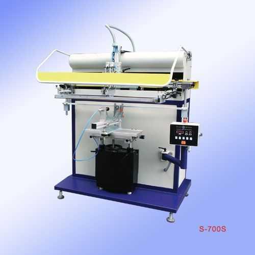 S-700S-气动圆面/锥面丝印机