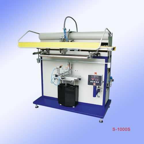 供应恒晖S-1000S-气动圆面/锥面丝印机