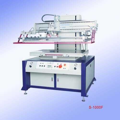 S-1000F-气动平面吸气丝印机|大平面丝网印刷机|厂家直销平面丝印机