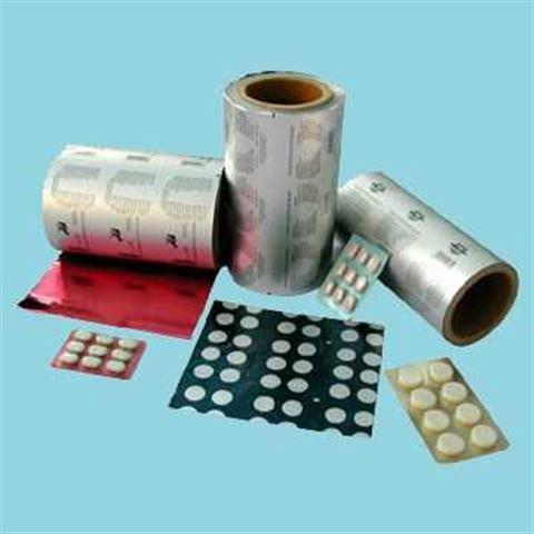 药用pvc硬片,药用ptp铝箔(10万级净化标准)