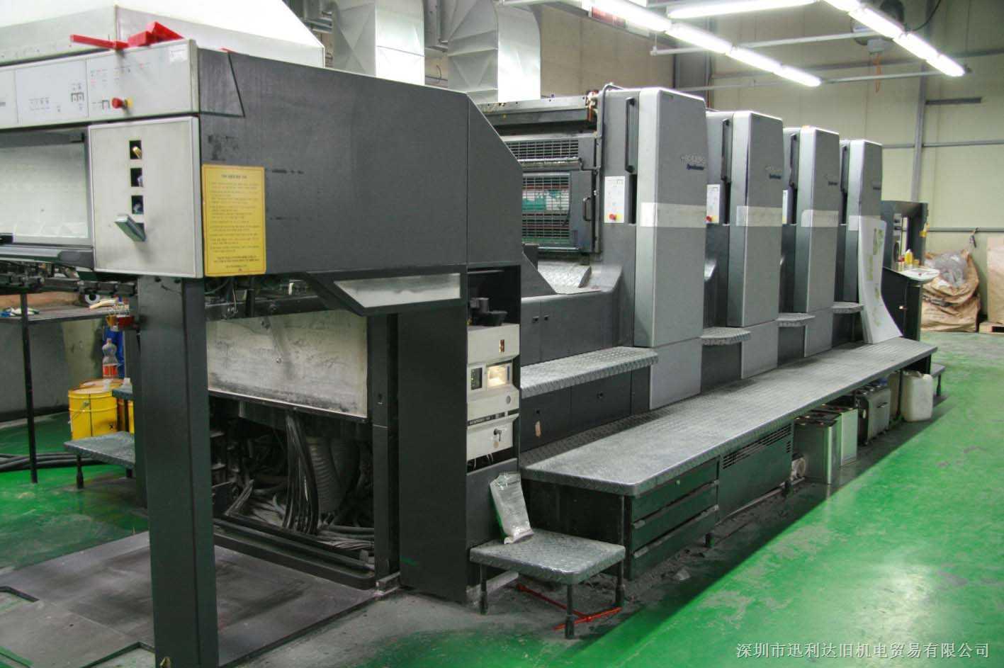 二手2000年海德堡CD102-4印刷機