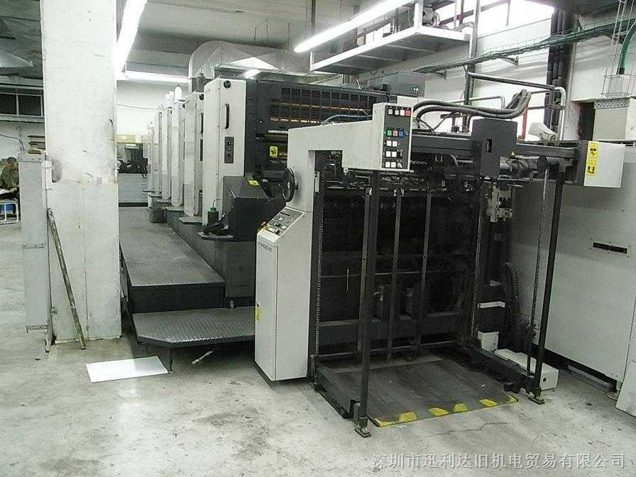 1999日本小森对开六色L-540印刷机