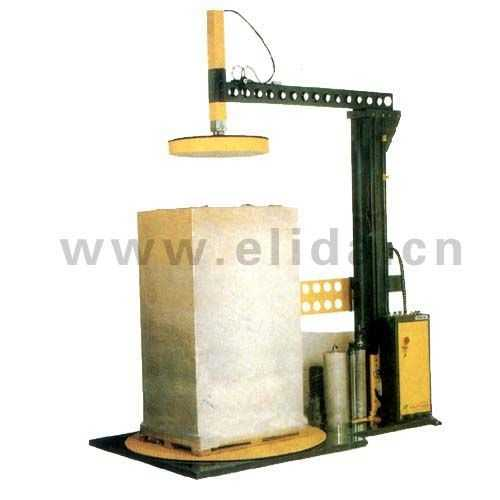 浙江啤酒全自动拉伸薄膜缠绕机/湛江食品栈板裹包机优质供应