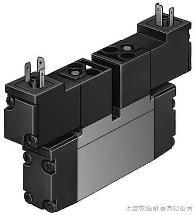 费斯托电磁阀 电驱动或气驱动 电磁驱动,带或不带辅助先导 电驱动阀可