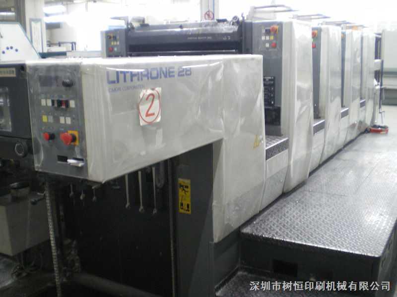 日本小森l-428四色四开印刷机