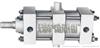 JB100缸径//JB125缸径//JB160缸径//JB200缸径//JB系列冶金气缸(JB100缸径) 无锡市气动元件总厂